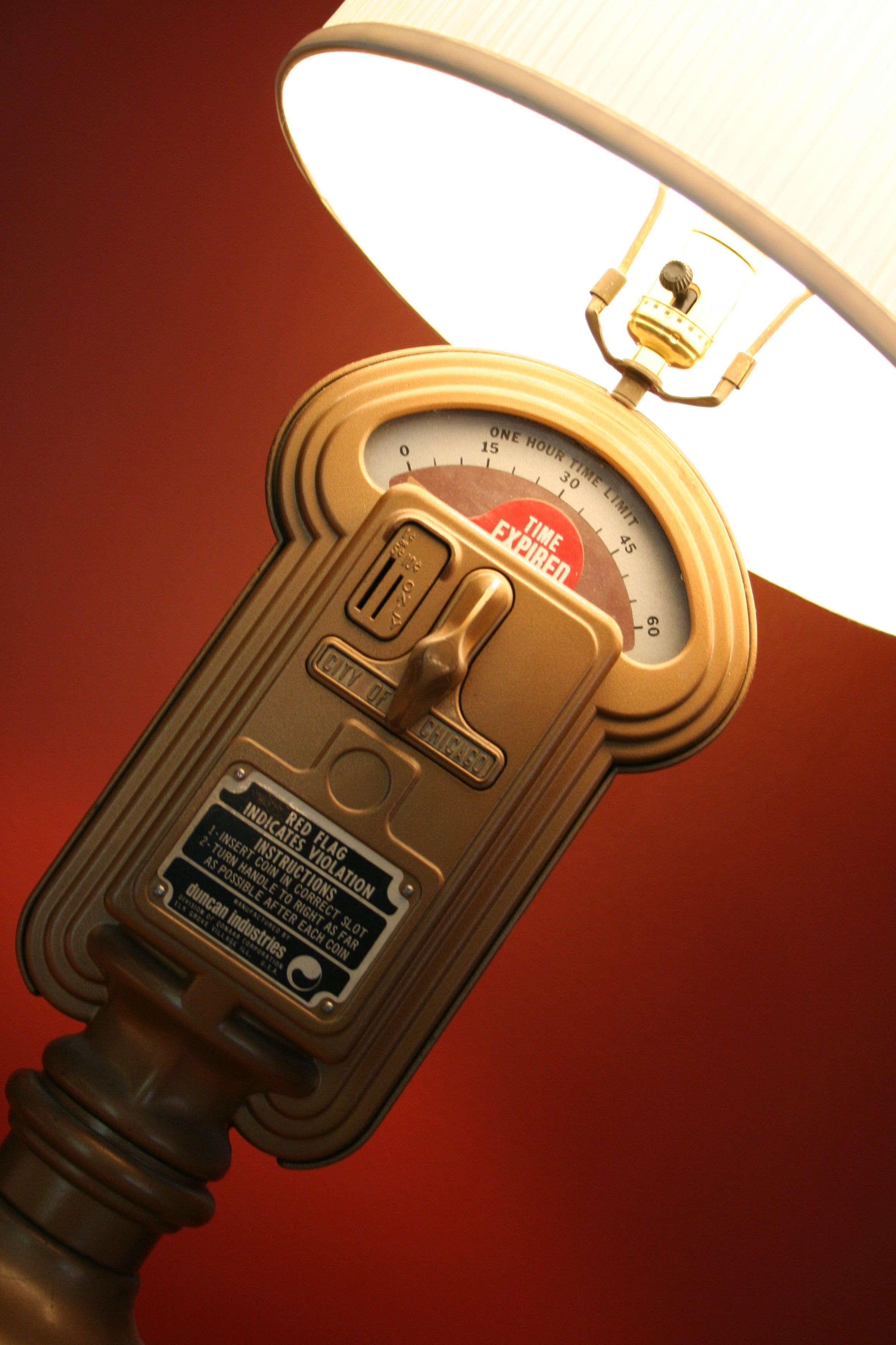 This My Moms Lamp Made From An Old Parking Meter Some Pictures I Vintage 193039s Ge Table Fan Needs Rewiring Fans And Etsy