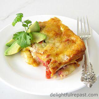 Chile Relleno Casserole Recipe from Delightful Repastugar - Host Favorites - Daily Dish Magazine