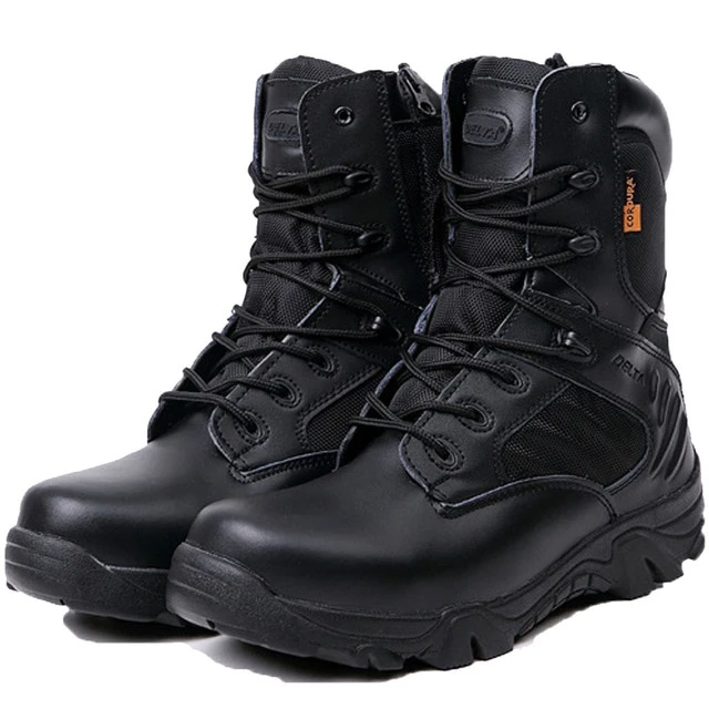 Relazione Grande Barriera Corallina Molto arrabbiato  Winter Men Military Combat Boots Leather Desert Work Safety Shoes Tact -  sheheonline in 2020 (With images) | Desert combat boots, Military combat  boots, Army boots