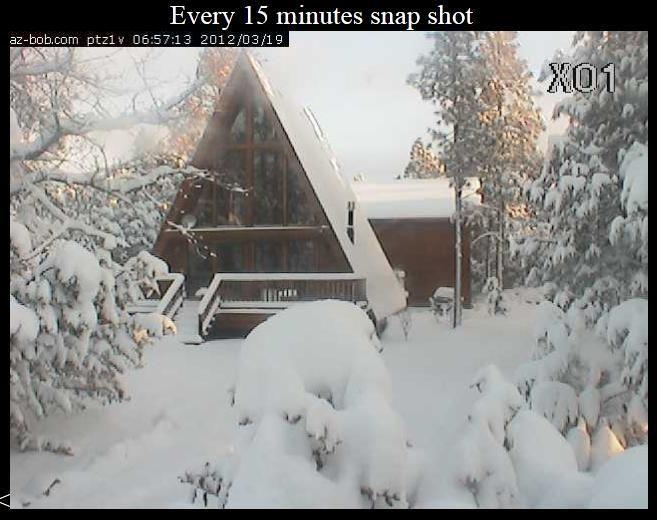 Snow on the Mogollon Rim in Arizona | Wild Weather and