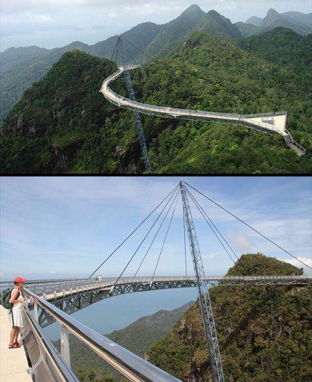 Langkawi Sky Bridge This Beautiful Skybridge In Malaysia Is - Metres above sea level