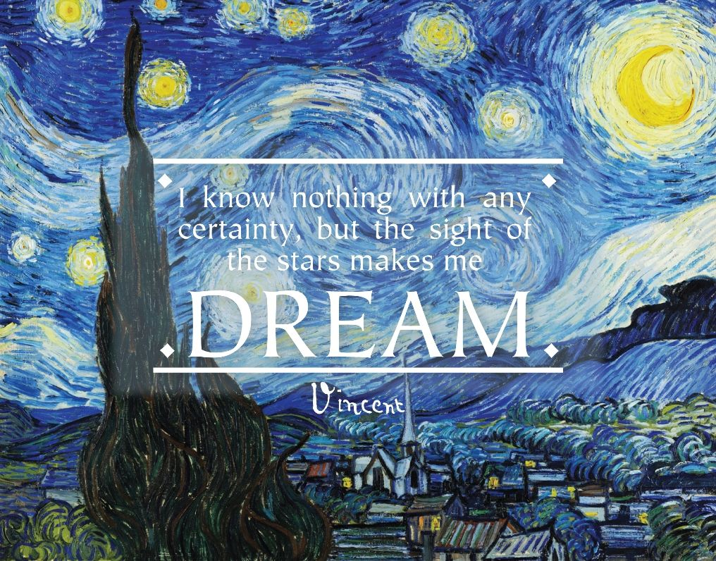 Vincent Van Gogh Quote | Life Wisdom | Pinterest