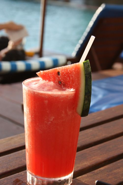 watermelon...I wish I knew how to make this....anything with watermilk should be delicious!!