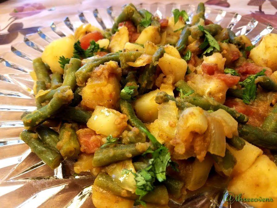 Ethiopian Green Beans And Potatoes Recipe In 2020 Vegan