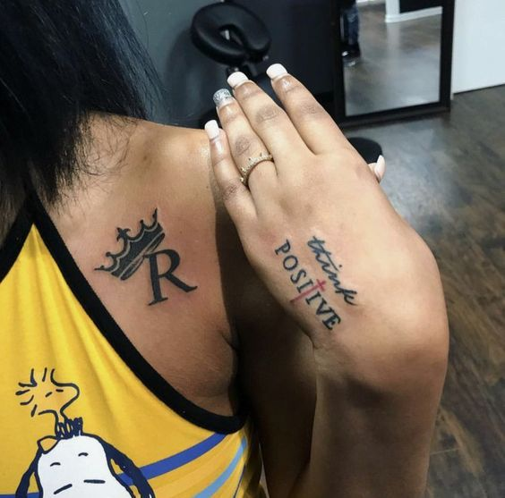 Best Hand Tattoo Design For Girls With Alphabet Tattoo Girl Neck Tattoos Stylist Tattoos Neck Tattoo