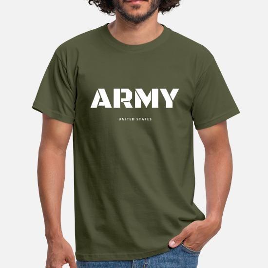 Army Spruch Tshirt Veteran United States USA Männer T Shirt