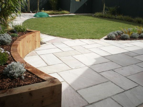 Garden Paving Designs   Mosaic Garden Paving   By VC Landscapes