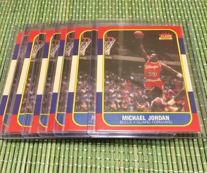 1986 michael jordan fleer reprint rc lot mercari anyone