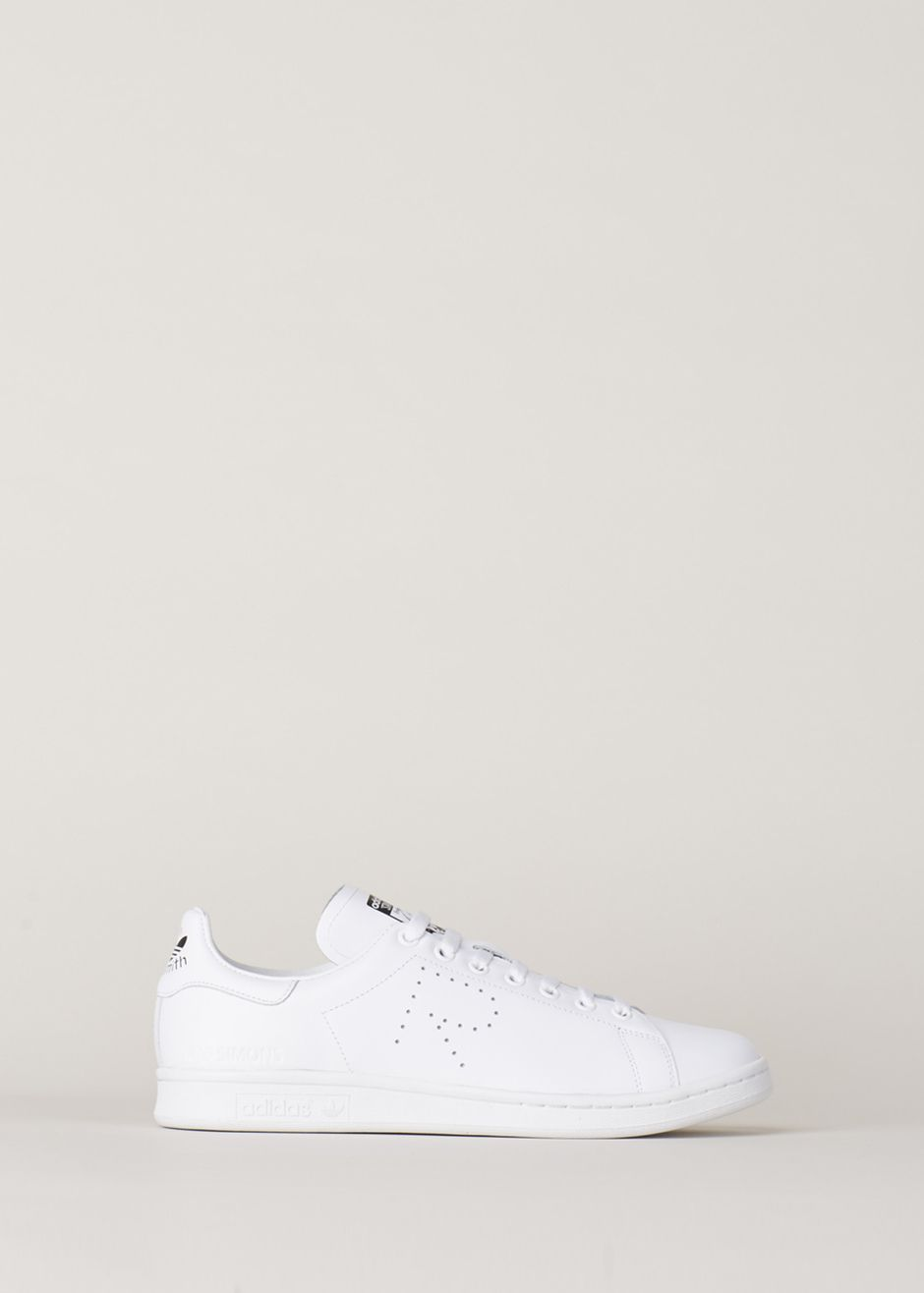 Raf Simons x Adidas Stan Smith.  Although RS is one of my fav designers, here I don't know why this is necessary.