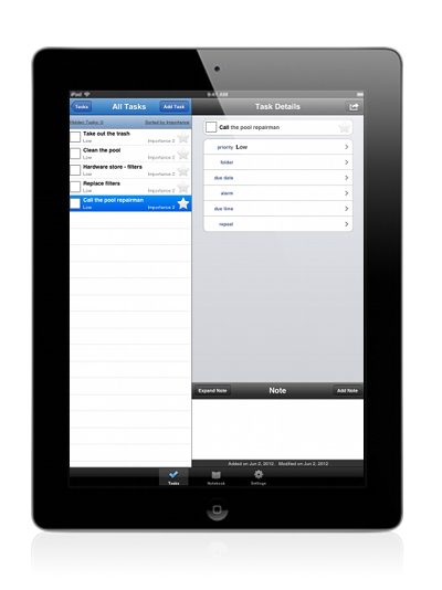 Toodledo Productivity App Productivity apps