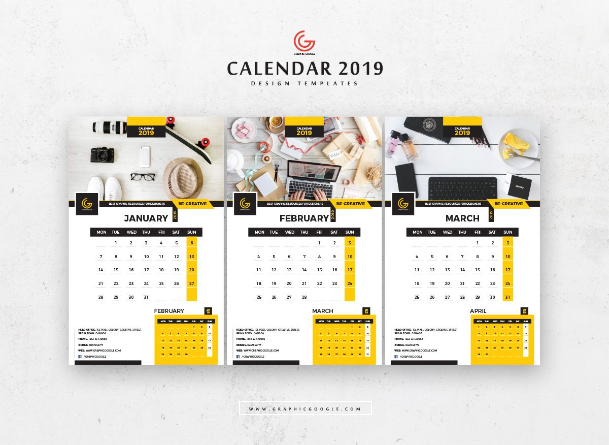 Free 13 Pages 2019 Calendar Design Templates January February March Calendar Design Template Calendar 2019 Design Calendar Design Layout
