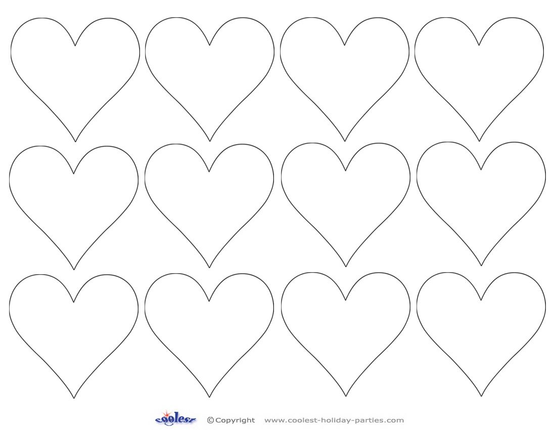 It's just a photo of Printable Hearts with print out