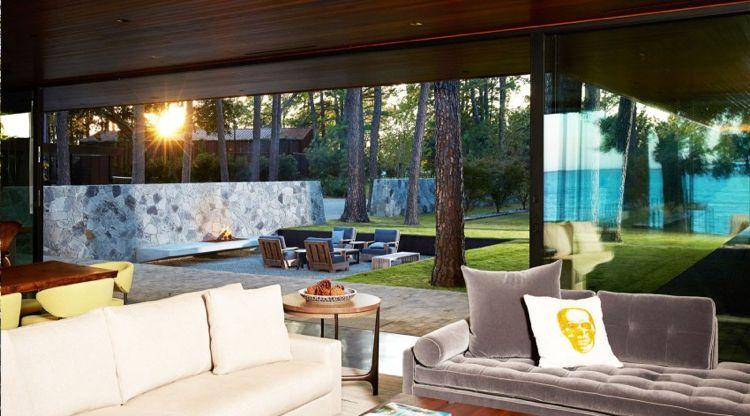Großformat Fenster Und Terrassentüren Erweitern Den Wohnraum Nach Außen