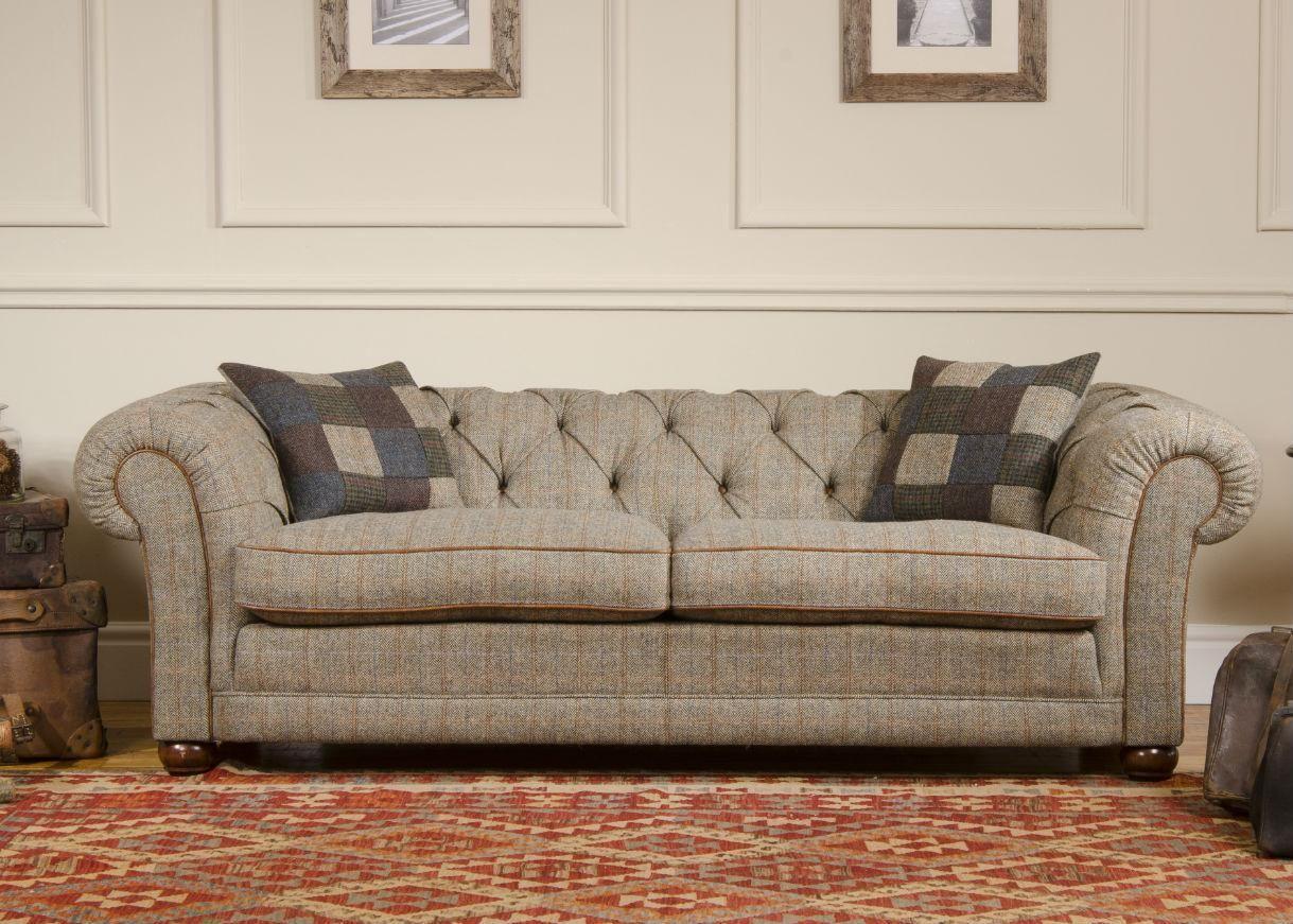 Tetrad Harris Tweed Castlebay Sofa From George Tannahill U0026 Sons