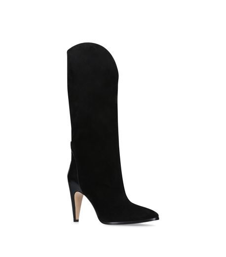 Black 95 suede boots Givenchy 7NPt3Wwp