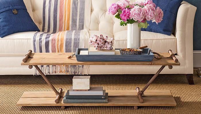 industrial style tisch fuer couch selber bauen mit - Wohnzimmer Sofa Selber Bauen