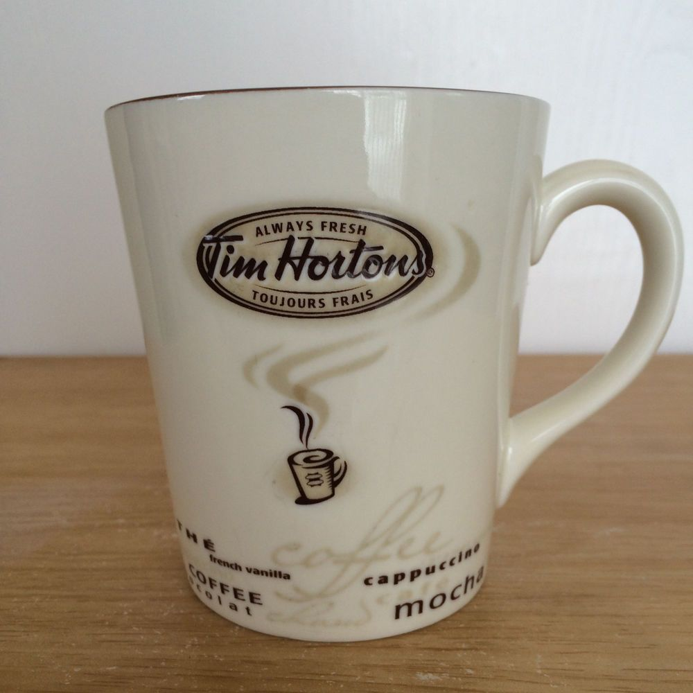 Tim Hortons Coffee Mug Cup 005 Limited Edition Bilingual