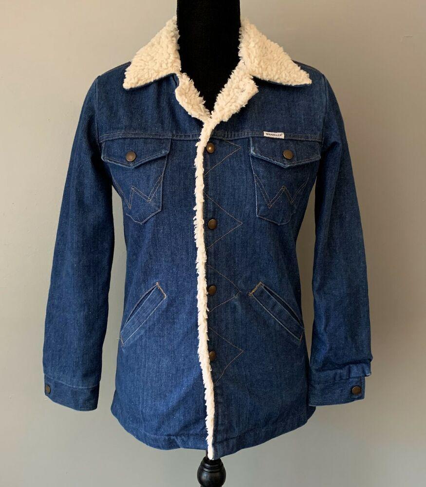 Wrangler Denim Jacket Vintage Wrangler Sherpa Denim Jean Jacket Women S Small Wrangler Denimjacket Casua Denim Jacket Vintage Denim Jacket Jean Jacket Women [ 1000 x 875 Pixel ]