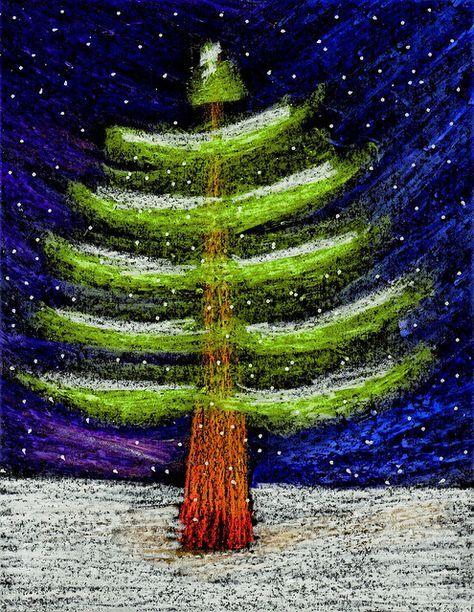 pin von eki auf bildende kunst pinterest weihnachten tannenbaum und baum. Black Bedroom Furniture Sets. Home Design Ideas