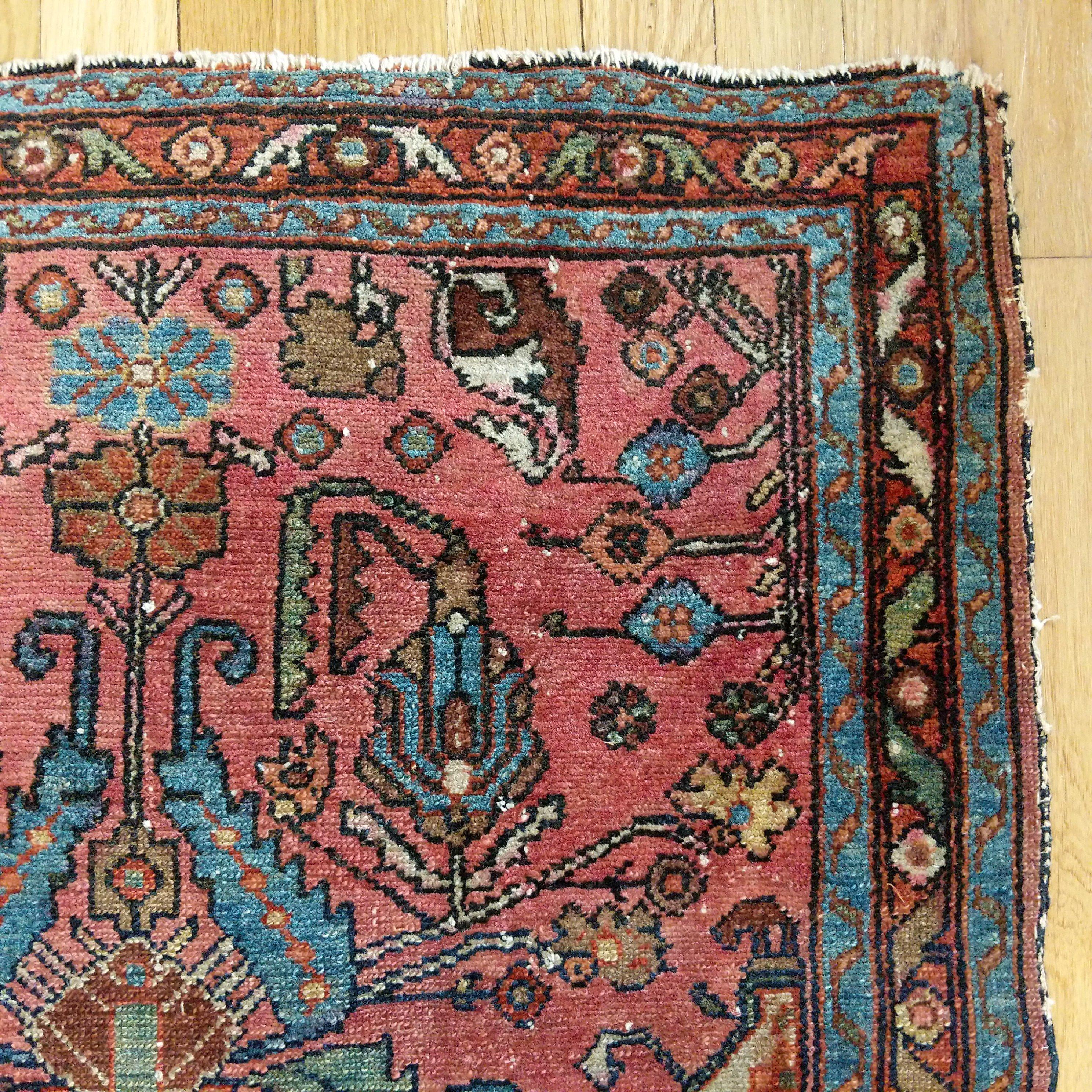 Persian rug u x u pink lilihan products pinterest