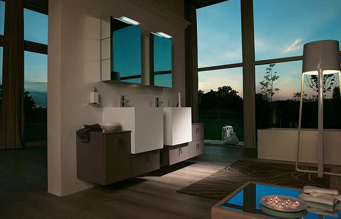 Arredo bagno modello FUNKY - BMT Bagni | Bathroom: vanity units ...