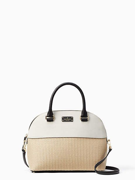 cc958316ac2b Kate Spade Grove street straw carli | Products | Pinterest | Wallet ...