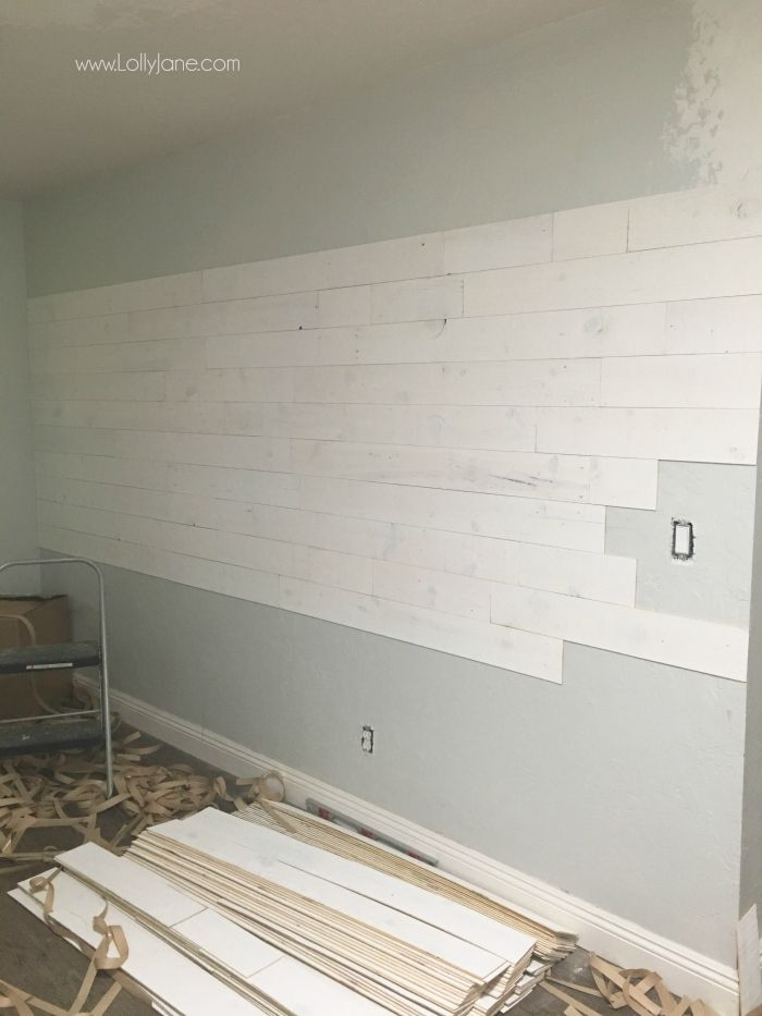 How To Apply Peel And Stick Shiplap Home Stuff Peel