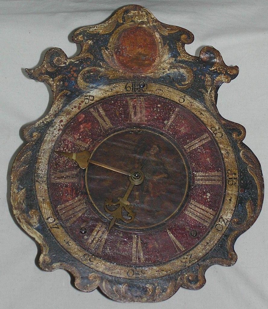 Baroque wall clock   BAROQUE................   Pinterest