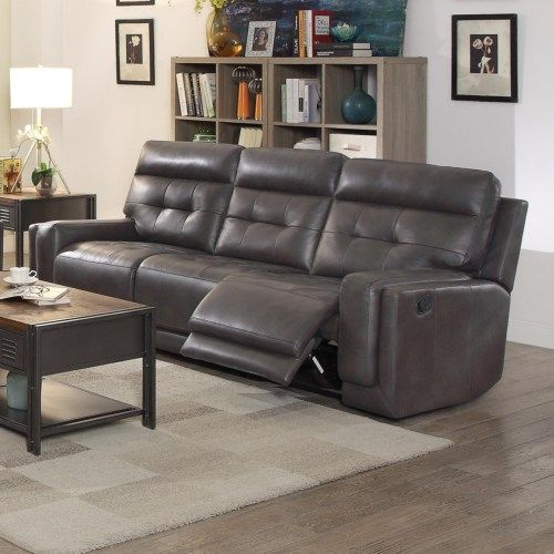 Coaster Trenton Motion Sofa With Tufted Cushions And Track Arms Coaster Fine Furniture Furniture Value City Furniture Coaster Fine Furniture