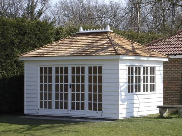 Hip roof garden shed interior design pinterest pool for Hip roof house