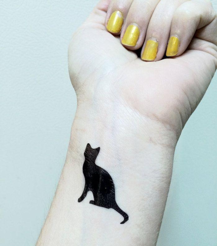 1001 Idees Tt Pinterest Tattoos Cat Tattoo Et Black Cat