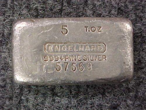 1 5 Troy Oz 999 Fine Silver Engelhard Bar Poured Silver Priced 2 Sell Gold Coin Price Silver Prices Gold Price Chart