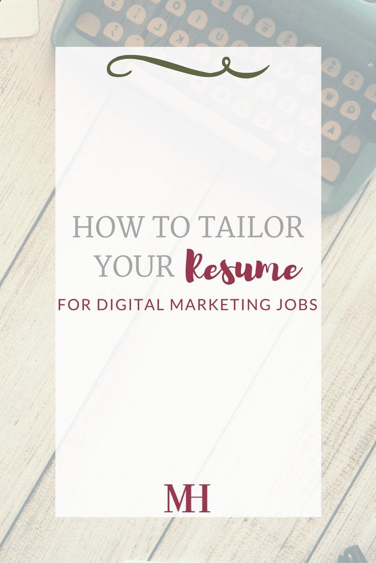 Photography Jobs Online How To Tailor Your Resume For Digital