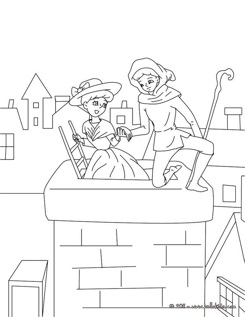 curious george coloring pages the sheperdess and chimney sweep