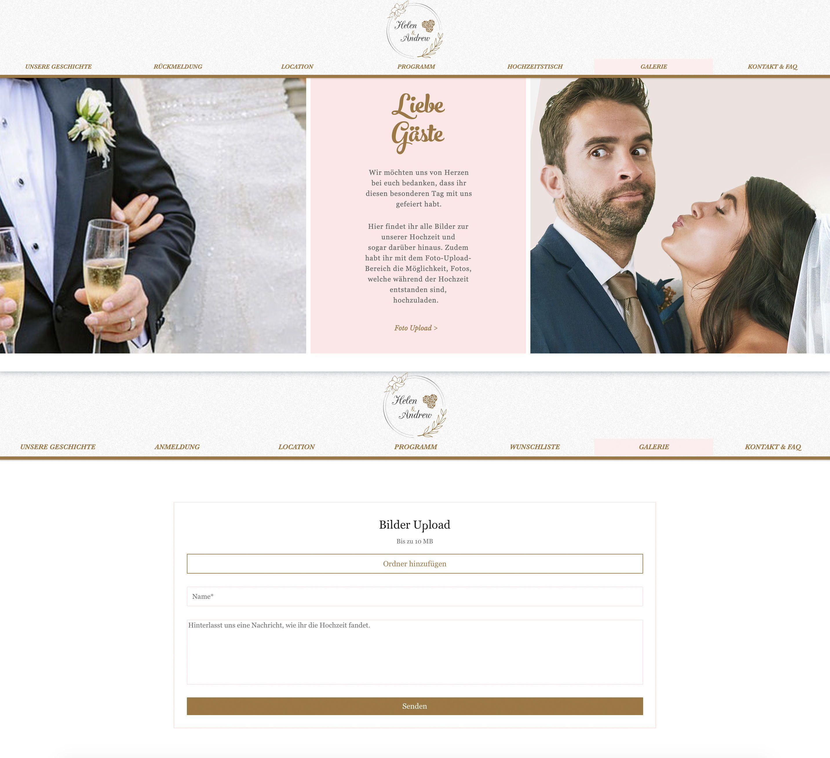 Professionell Individuell Die Hochzeits Homepage Erstellen Lassen Hochzeitswebseite Hochzeit Hochzeitskosten