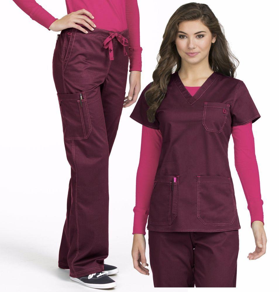Nova blusa feminina Med Couture MC2 Conjunto de esfoliação Uniforme De  Enfermagem vários estilos de cores  854a17d8aa641