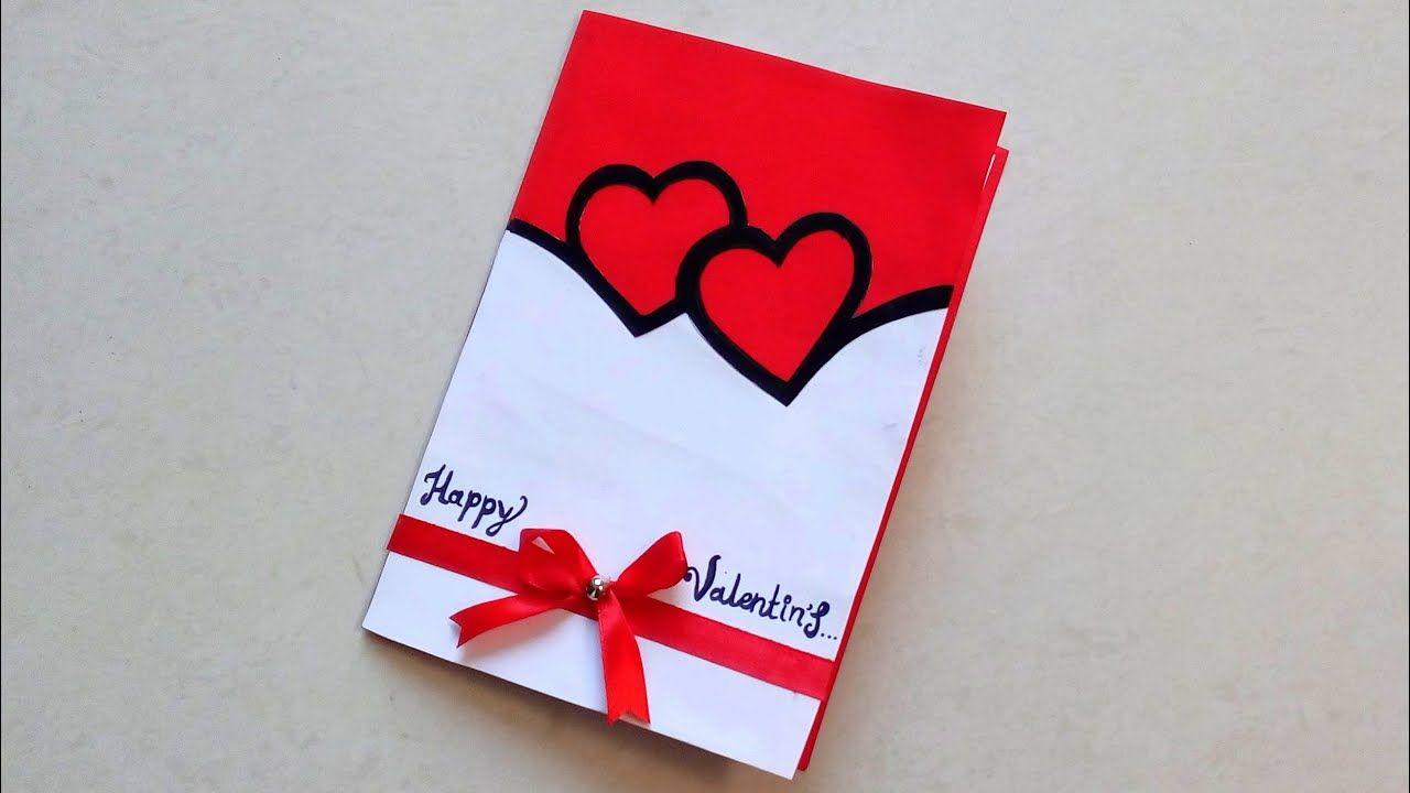 Valentine Day Handmade Card Idea How To Make Diy Card For Valentine Day Valentines Day Cards Handmade Valentine Cards Handmade Cards Handmade