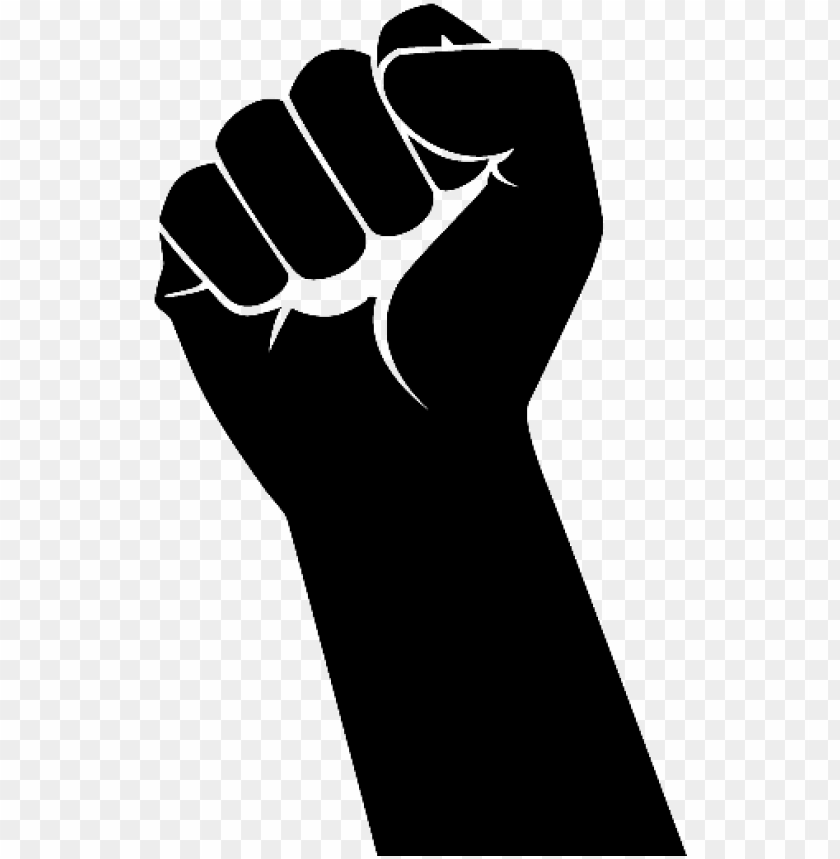 Unch Hand Png Raised Fist Png Image With Transparent Background Png Free Png Images Raised Fist Free Png Image
