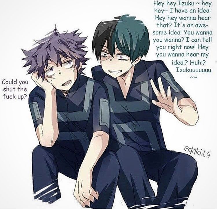 Haha I love villain Deku better 😂💜 | My hero academia