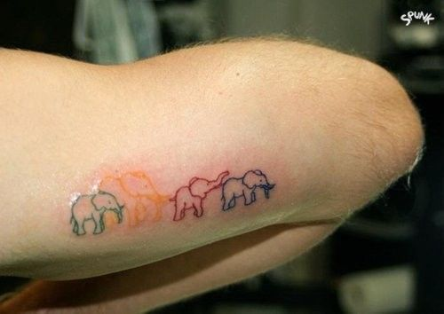 Elephant Tattoo - Elephant Family