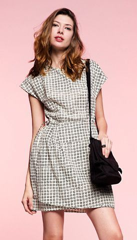 Block Print Petal Dress