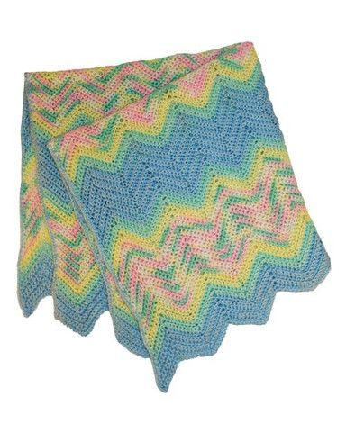 Picture of Free Baby Ripple Afghan Pattern