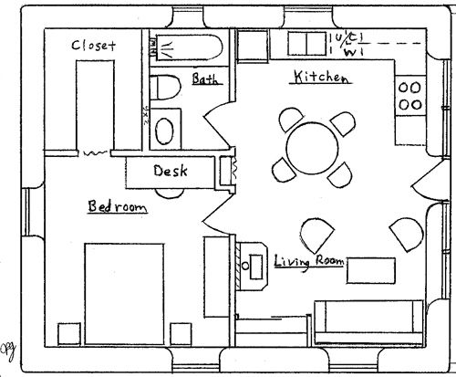 Tiny Home Designs: Earthbag House Plans