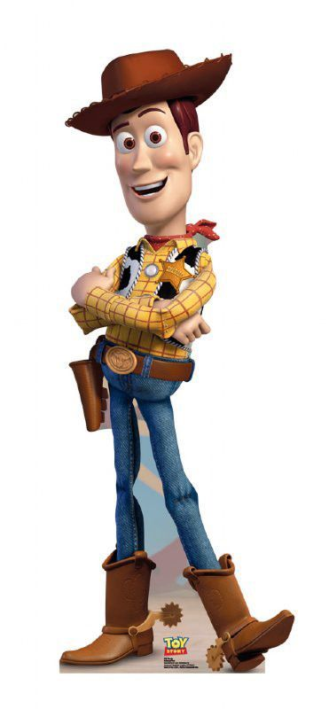 Disney Woody Cardboard Stand-Up