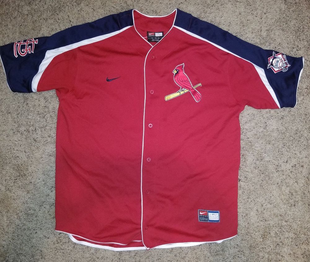 Mens haircut st louis st louis cardinals albert pujols nike team sewn mens xl jersey mlb