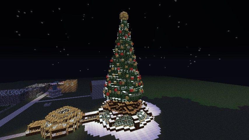 Giant Christmas Tree Schematic Minecraft Project Minecraft Christmas Tree Minecraft Projects Christmas Tree
