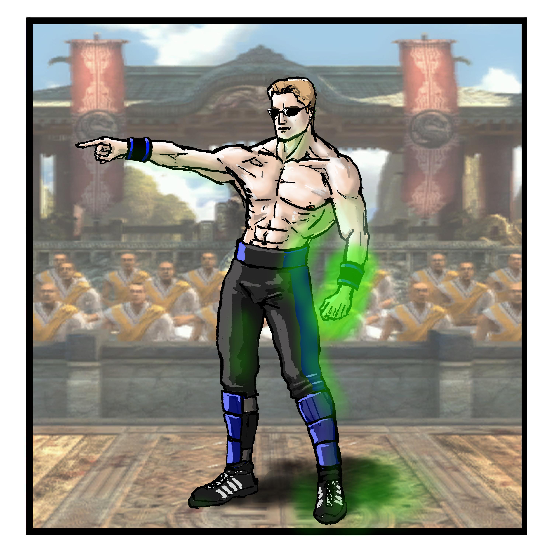 Johnny Cage Mortal Kombat Shaolin Monks Mortal Kombat Shaolin Monks Johnny Cage Mortal Kombat 4