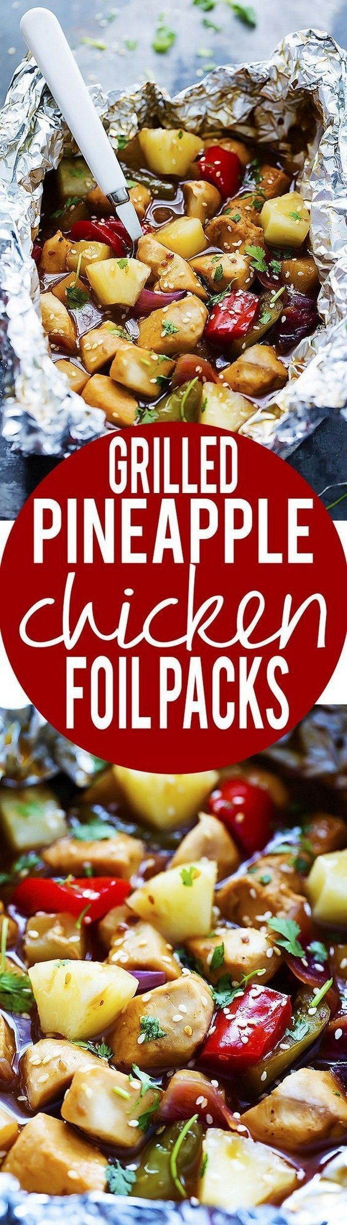 Photo of You will find foil pack recipes that you can use for parties, potlucks, …   – …
