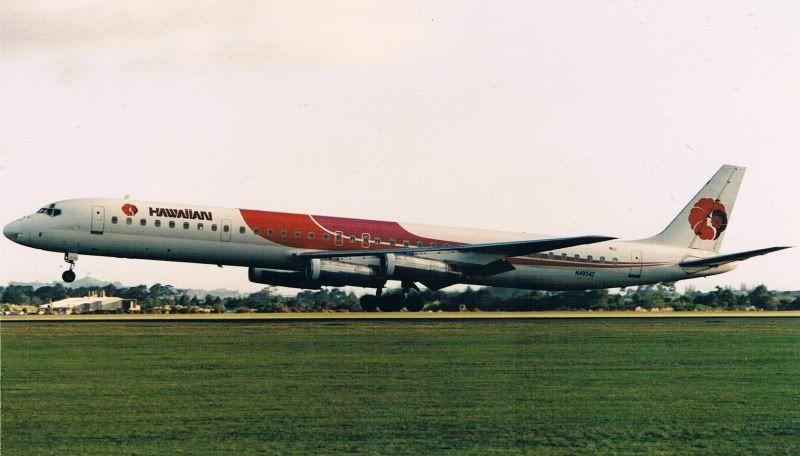 Hawaiian air dc8 hawaiian airlines vintage aircraft