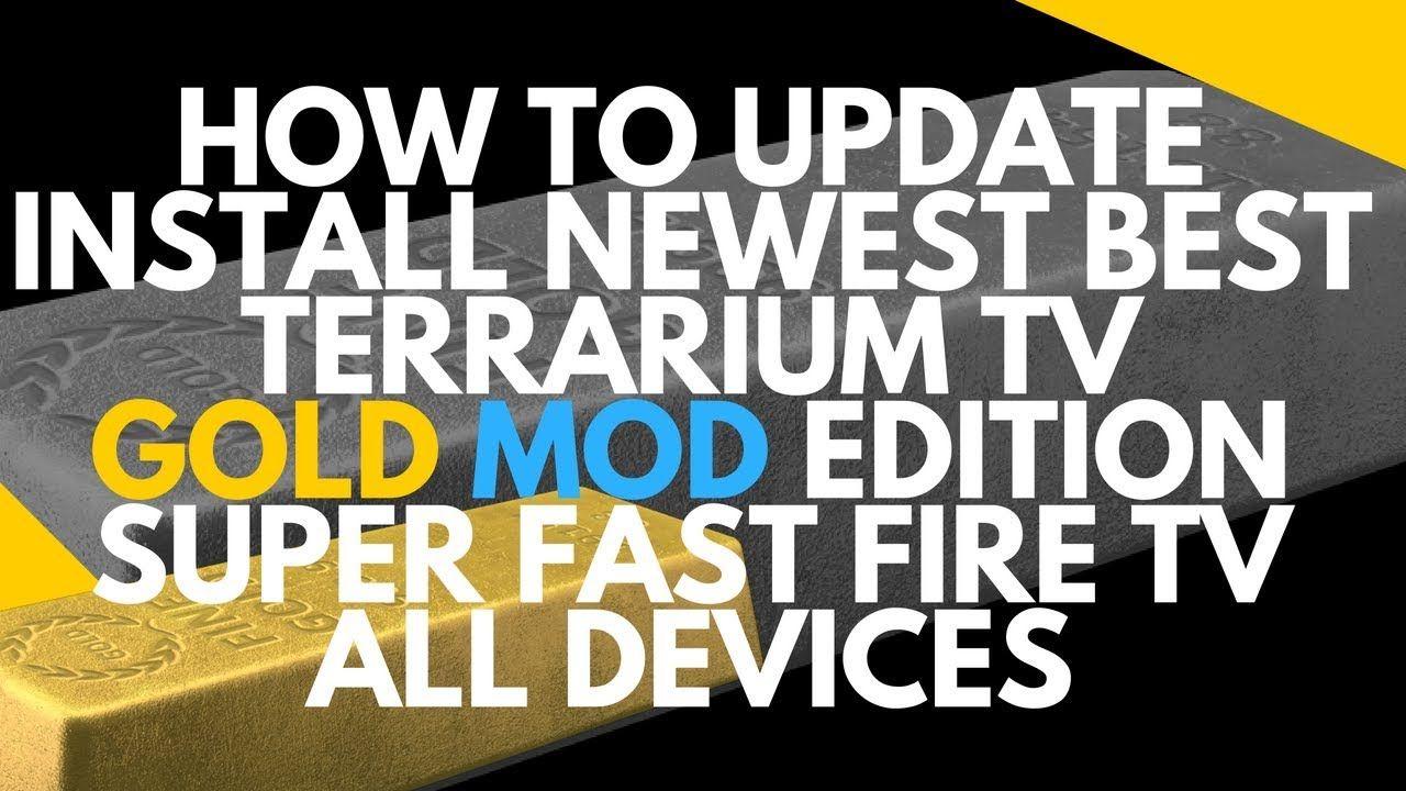 How to install update terrarium tv on firestick fire tv